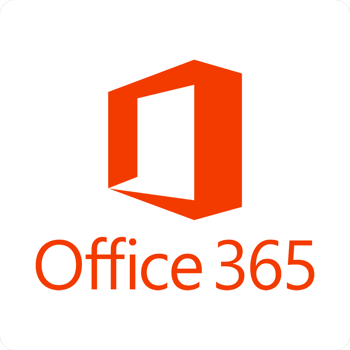 Office 365 icon and link to webpage